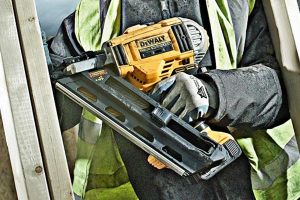 A powered nail gun will give you a professional finish.