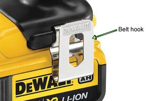 DeWalt Power Drill Belt Hook.