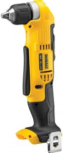 DeWalt Straight Drill and right angle drill.