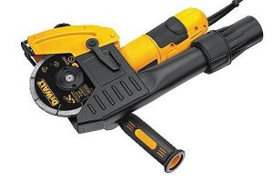 DeWalt mortar raking kit attachment.