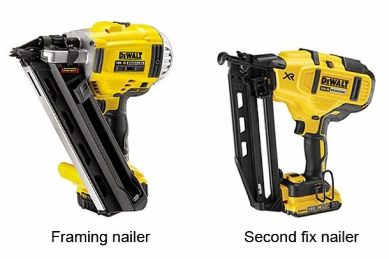 Dewalt nailers are tough and practical.