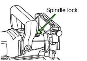 Dewalt jointer spindle lock diagram.