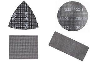 Metal mesh sanding discs are extremely durable.