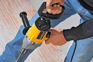 Dewalt mixer drill has plenty of power.