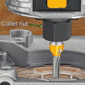 A router's size is determined by its collet.