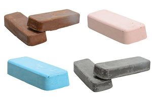 Different polishing bar specifications are determined by using different colours.