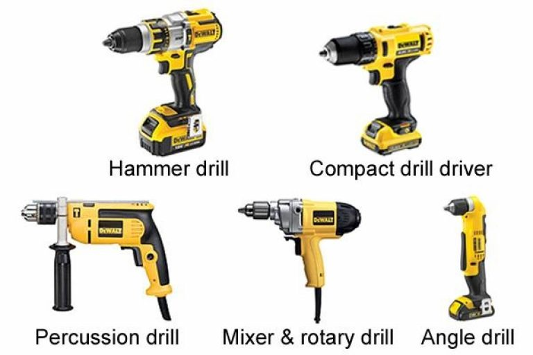 DeWalt drills come in a range of styles and shapes.