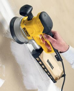 Dust collection when sanding is vital to protect your machine.