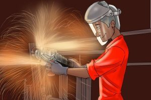 Power should be taken into account when buying an angle grinder.