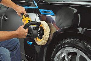 Rotary polishers used on paint work repair on motor vehicles.