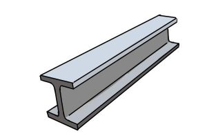 Steel is commonly used in a lot of construction.