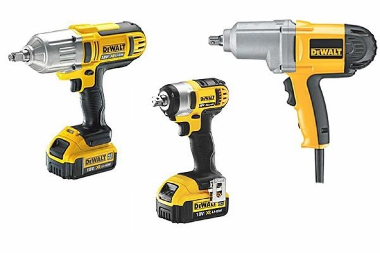 There are several types of impact wrench.