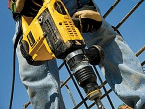 DeWalt SDS max drills have efficient hammer action.