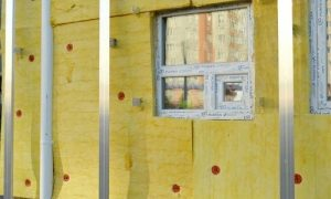 Example of how to properly insulate a building.