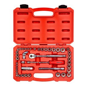 Tekton 45-Piece Drive Socket Set